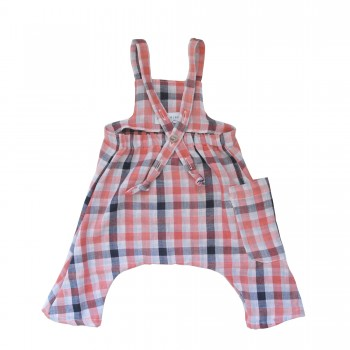 darling-peach-plaid-overall-back