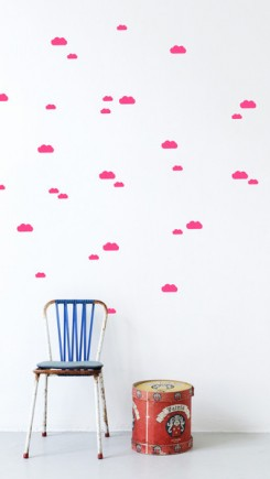 wallstickers_neonclouds
