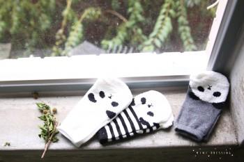 panda socks 1