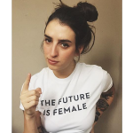 FIF White Womens Tee
